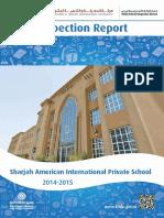 KHDA Sharjah American International Private School 2015 2016