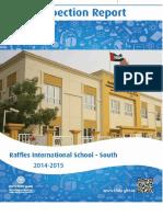 KHDA Raffles International School South 2014 2015