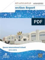 KHDA Queen International School 2014 2015