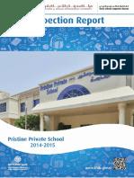 KHDA Pristine Private School 2014 2015