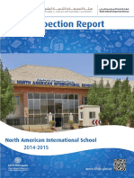 KHDA North American International School 2014 2015