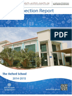 KHDA Oxford School 2014 2015