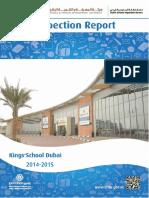 KHDA Kings School Dubai 2014 2015