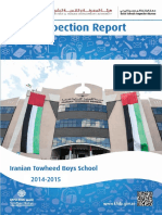KHDA Iranian Towheed Boys School 2014 2015