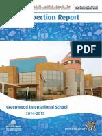 KHDA Greenwood International School 2014 2015