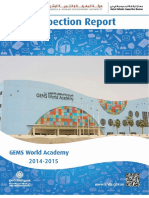 KHDA Gems World Academy 2014 2015