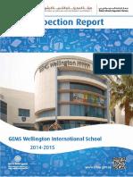 KHDA Gems Wellington International School 2014 2015