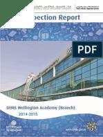 KHDA Gems Wellington Academy Branch 2014 2015