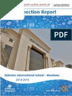KHDA Emirates International School Meadows 2014 2015
