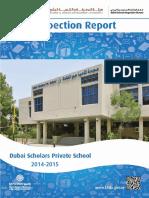 KHDA Dubai Scholars Private School 2014 2015