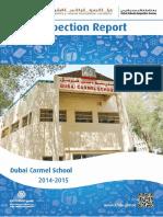 KHDA Dubai Carmel School 2014 2015