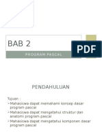 BAB 2 Program Pascal