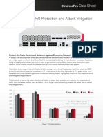 Radware DefensePro Data Sheet