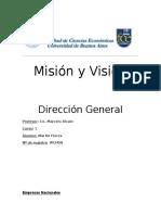 TP Dirección General Misión y Visión