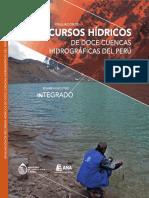 Evaluacion de Recursos Hidricos de Doce Cuencas 2016