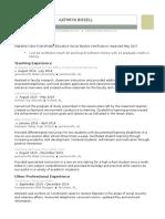 bissell resume online