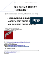 LSS Cheat Sheets