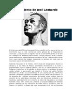 Movimiento de José Leonardo Chirinos