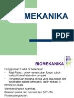 Kuliah 1 Biomekanika