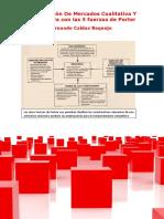 Investigación De Mercados Cualitativa Y Cuantitativa con las 5 fuerzas de Porter
