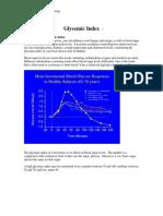 Rakel Glycemic Index