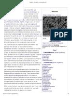 Bacteria - Wikipedia, La Enciclopedia Libre