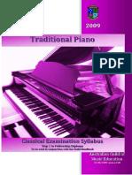 Traditional Piano Syllabus|12