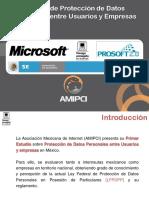 Estudio de protección de datos personales entre usuarios y empresas