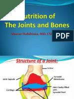 9 Nutrtion of Joints Bones