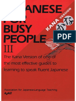 Japanese for Busy People 3