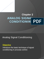 Analog Signal Conditioning