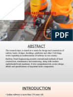 Design and Construction of Rail Tracks