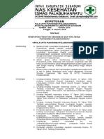 SK Struktur Organisasi