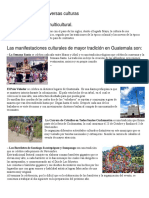 Guatemala Practica Diversas Culturas
