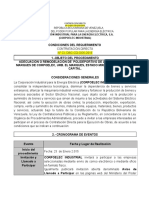 Pliego de Condiciones Obras Polideportivo 005 2015 1