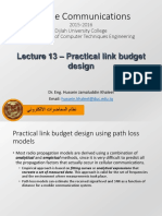 13 - Large scale path loss - Practical link budget design.pdf