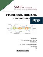 Informe N°1 Lab. de Fisiología