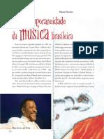 A Contemporaneidade Da Música Brasileira