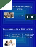 Concepciones de La Etica y de La Moral.