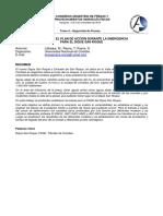 Resumen Bases Para El Plan de Acción - Rotura Dique San Roque