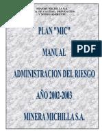 Manual Administracion Del Riesgo
