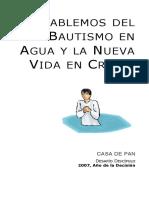 DD Hablemos Del Bautismo en Agua Short