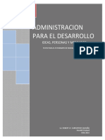 libro administracion para el desarrollo