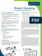 Be Energy Smart - Energy Efficient Housing