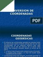 Conversion de Coordenadas