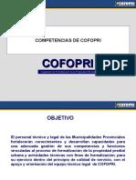 1.-Competencias de COFOPRI Urbano