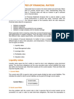 Types of Financial Ratios 19mar 2012