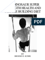 Brooks Kubik Diet