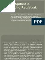 Derecho Registral, Capítulo 2, Concepto, Terminología