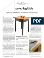 icdt tapered-leg table plans with dimensions